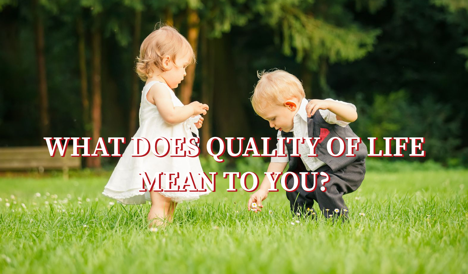 What Does Quality of Life Mean to You